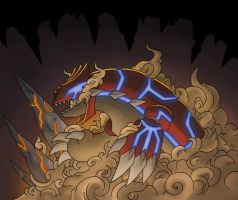 GROUDON - Volcanic Terra Beast 2.0 by Jougeroth