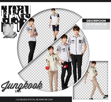 #090 | Pack PNG | Jungkook| BTS by clearlikecrystal