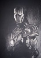 Subtractive Method - Iron Man by The-Evil-Pacman