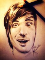 Anthony Padilla from Smosh portrait (rapid sketch) by ElixColfer