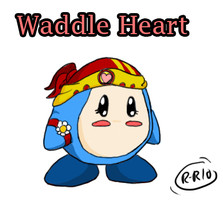 Waddle Heart -Color- by Rhay-Robotnik