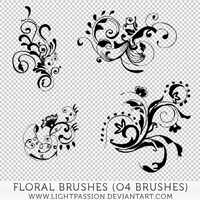 Floral Brushes by LightPassion