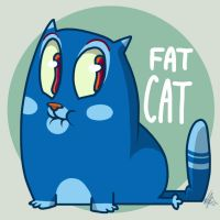 Fat Cat by vaporotem