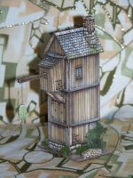 Crane house side view by Artist1946