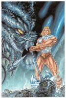 He-man Predator crossover pic by Jams-da-1