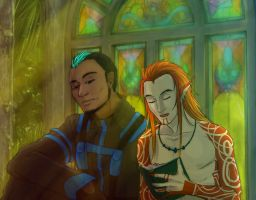 Markus and Endall by Niladhevan