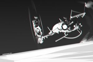 ship hyperjump by benedickbana