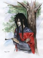 Uchiha Madara by Rukinda
