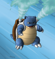 009 Blastoise by PokeGirl5