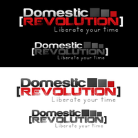 Domestic Revolution Logo by fireproofgfx