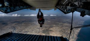 skydiving by omaralNaqbi