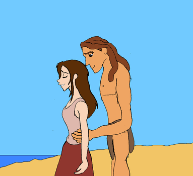 Tarzan and Jane by AUBREY1144