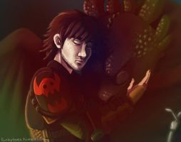 Hiccup and Toothless 2 by fUnKyToEs