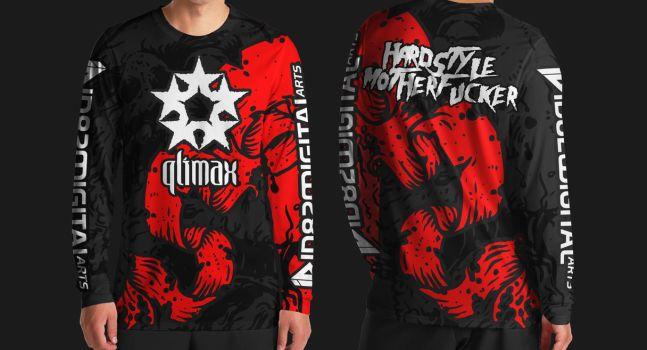 Downhill QLIMAX Hardstyle jersey by id820