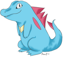 - totodile by Ducktrot