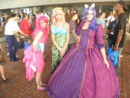 Otakon 2012 - My Little Pony Group 1 by mugiwaraJM