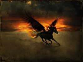 The Pegasus Of Apocalypse by RuslanKadiev