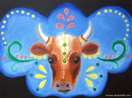 Bollywood Cow by LoVeras