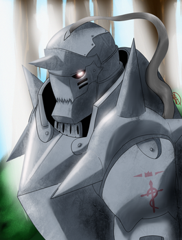 Alphonse Elric by FatedRoses