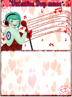 Valentine Meme: MP3 by Ask-MusicPrincess3rd