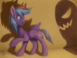 Commish - is that a ghost? by Raikoh-illust