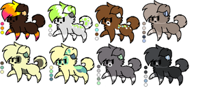 Puppy Adopts ::Open:: by Icon-Adopts
