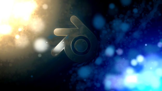 The space between worlds [Blender logo ALT] by Blenden92