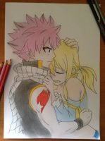 Natsu and Lucy! by TheSassyFox
