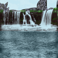 Waterfalls by SkyDaddyD