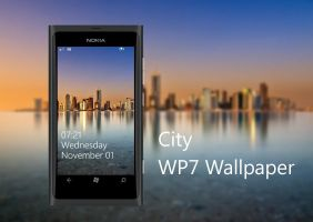 City WP7 Wallpaper by biggzyn80