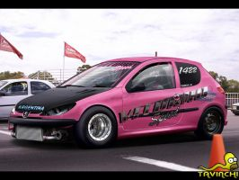 Peugeot 206 Drag by Tavinchi