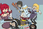 Brownies are ready - A draw the squad edit by KoikoPunk-Unded