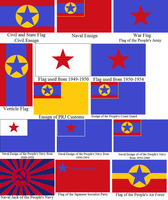 Aftermath Flags of North Japan by tylero79