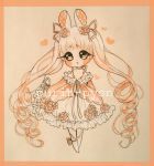 Pink Rose Bunny Adopt  [closed] by Purin-pyon