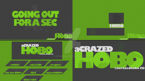 Crazedhobo Twitch Graphics Pack by WConman88