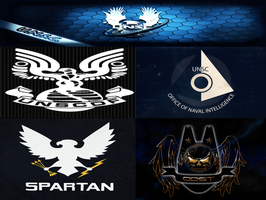 UNSC Defense and Special Branches logo by FriendlyMage