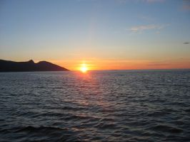 Sunset in the north of Norway by MissVian95