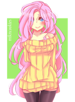 Fluttershy Human by MiknCookies