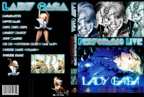 Lady Gaga Glastonbury DVD Art by utskushi-billy