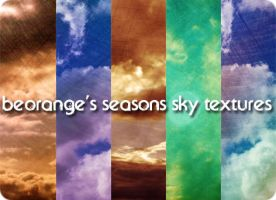seasons sky textures by beorange