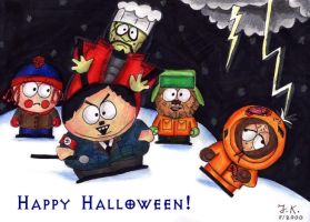 South Park Halloween by Zwerg-im-Bikini