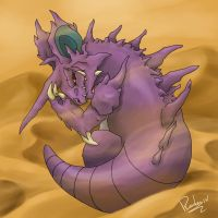 Nidoking by Radven