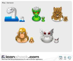 Myths vista icons by Iconshock