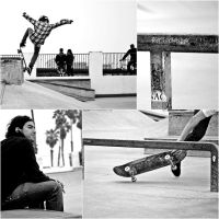 Skate collage by Laki-Ilong
