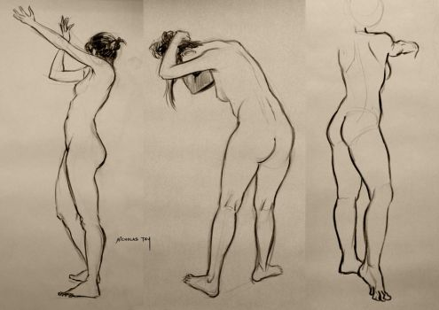 Life Drawing 4 by nictey