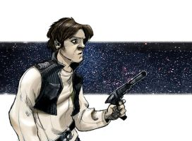 Han Solo by Sally-Avernier
