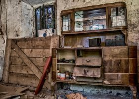 The grandmother's old dresser ... by Blakk-mamba