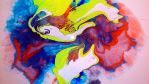 marbling inks 3 by GraceDoragon
