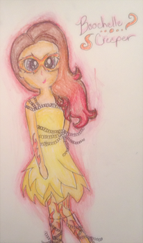 Boochelle Creber~Monster High   by TheLivingDictionary
