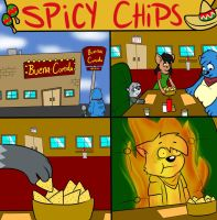 Spicy Chips Comic by Cartcoon